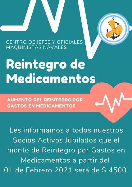 Reintegro de Medicamentos