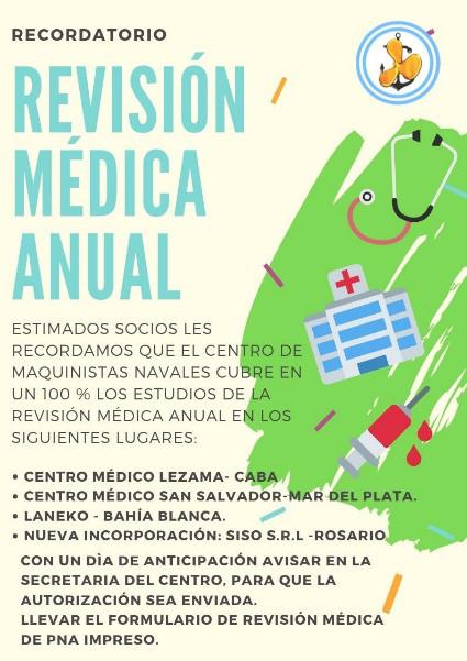 Revisión Médica Anual