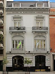 Frente Actual de la Sede Central del Centro de Jefes y Oficiales Maquinistas Navales - Libertad 1668 Ciudad de Buenos Aires